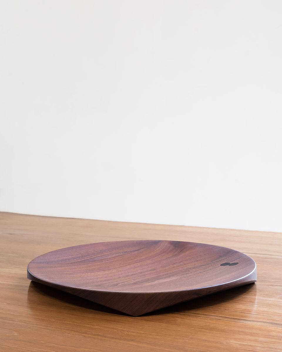 Topologic Bowl | Mahogany