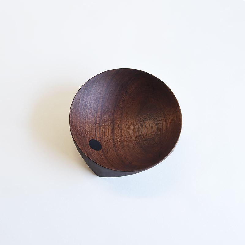 Ø 200 mm — Teak & rosewood inclusions