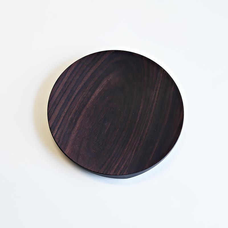 Ø 260 mm — Rosewood, no inclusions