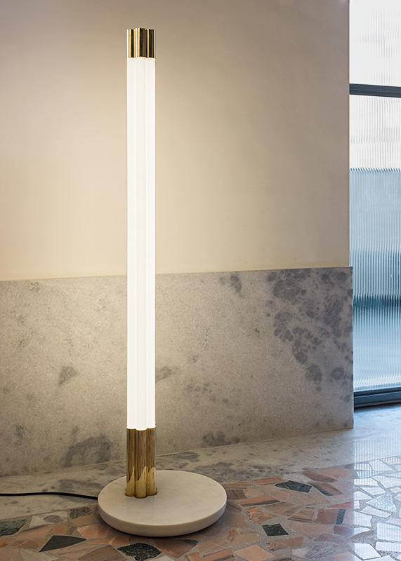 Sevent Tube Light, Floor version