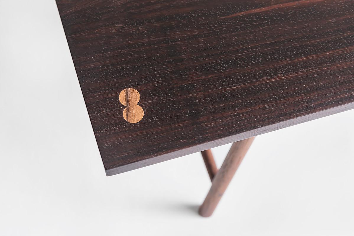 Trestle Table, Rosewood & teak