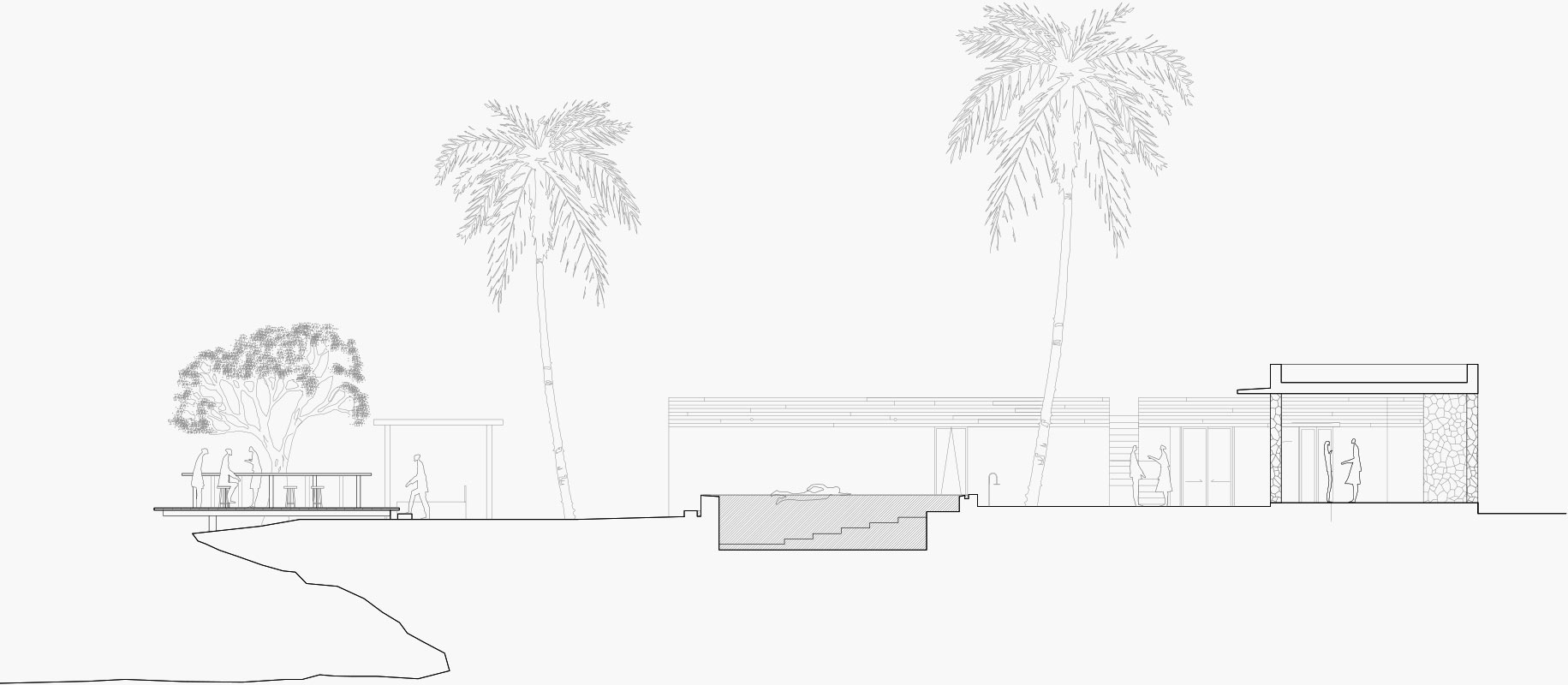 Beach Front Section
