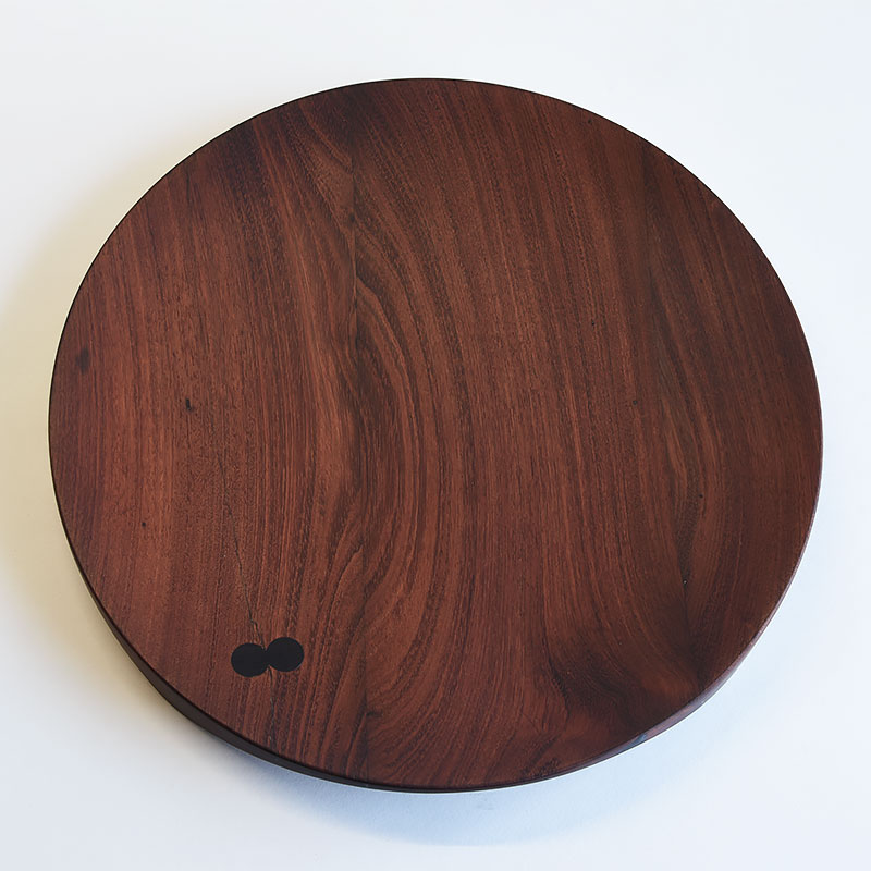 Ø 400 mm — Mahogany with rosewood inclusions