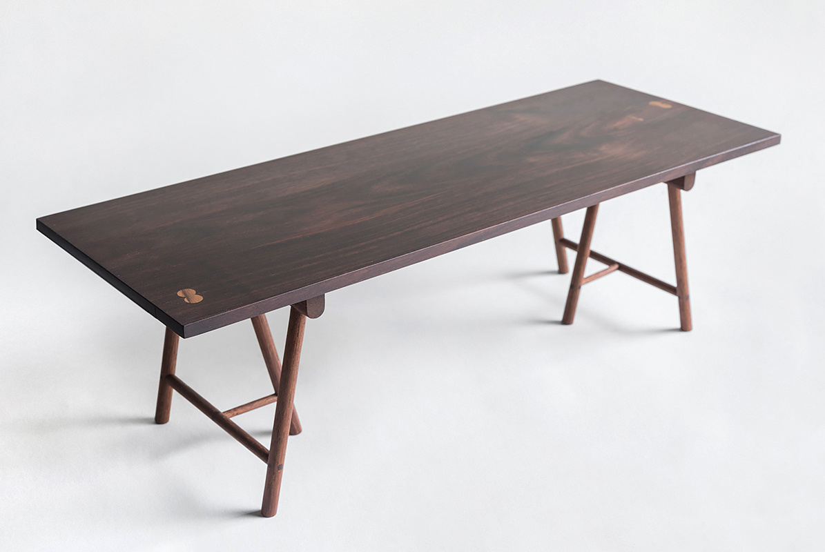 Trestle Table | Rosewood & teak